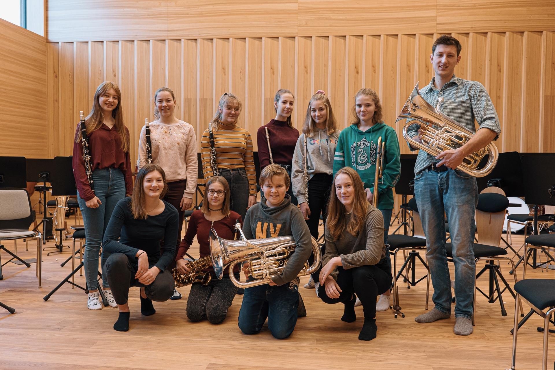 Neuzugänge Musikkapelle Rietz